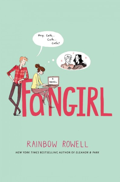 Cover image of Fangirl by Rainbow Rowell