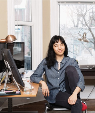 Jillian Tamaki author photo