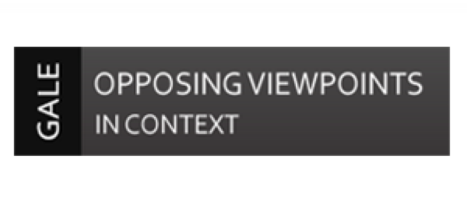 opposing viewpoints « back | search now update frequency: daily opposing viewpoints in context is the premier full-text resource covering today's hottest social issues, from terrorism to endangered species, stem cell research to gun control drawing on acclaimed series published by greenhaven press and other gale imprints, opposing viewpoints.